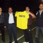 """La UABCS entregó uniformes deportivos al equipo de futbol sóccer """"Gatos Salvajes"""" de la categoría de primera fuerza."""