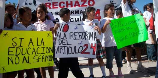 Un retroceso de 150 años reformar el artículo 24 constitucional, advierte el Foro Cívico México Laico