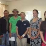 El Dr. Hioki Yoshiyuki, Subdirector de la Universidad de Tottori, Japón, se reunió con profesores de la carrera de Licenciado en Turismo Alternativo de la UABCS que imparten materias enfocadas a realizar prácticas de campo.