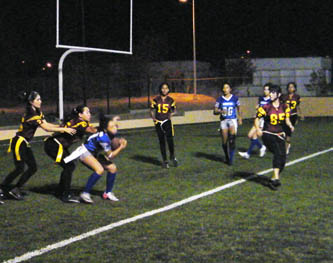 Continúan acciones del Torneo Futbol Flag Primavera 2012