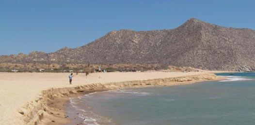 """Fue algo """"natural"""" el deslizamiento de arena en Los Frailes explica la CONANP"""