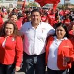 El candidato del PRI se pronunció en contra de la simulación, la intriga y el revanchismo, para consolidar un solo proyecto en torno al partido y su candidato a la Presidencia de la República.