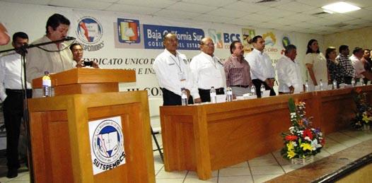 La elección tuvo lugar durante dicha convención, la que se verificó el día de ayer en Los Cabos, ahí, los delegados presentaron la propuesta para reelegir a Maximino Iglesias.