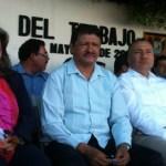 """Que """"no se haga tonta"""",exigieron obreros a la delegada de la Secretaría del Trabajo y Previsión Social en Baja California Sur, Amalia Camacho Álvarez."""