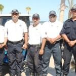 """En la colonia Pueblo Nuevo, un oficial aseguró que """"la mayoría, si no es que el noventa por ciento de los policías, no tenemos ni chaleco, no tenemos armas las suficientes""""."""
