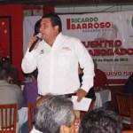 """""""Parte de mis amigos tienen ese tipo de preferencias y, si hay que pedir una disculpa, la pido"""", declaró enfático Barroso, y pidió que no sea esto utilizado en el plano electoral."""