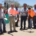 """Covarrubias Villaseñor comentó el """"enorme gusto"""" que siente por iniciar trabajos en la comunidad Melitón Albáñez."""