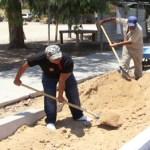 La ciclovía del bulevar Agustín Olachea se encuentra en rehabilitación, dejó ver César Pozo Juárez, director de Servicios Públicos Municipales.
