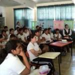 La dirección del Colegio de Bachilleres, Plantel 06, Santa Rosalía, continuó esta semana con la promoción de la oferta educativa de esta institución.