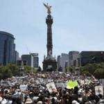 La marcha anti Peña Nieto: entre 10.000 y 40.000 personas