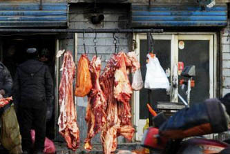 Vendía carne humana en su puesto del mercado