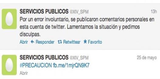 Los mensajes en Twitter contra AMLO son una expresión a título personal, «no es la postura de la institución»