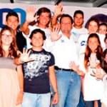 El candidato del PAN al Senado de la República, Carlos Mendoza Davis, estableció su compromiso con las reformas estructurales y especialmente con un mayor apoyo a los jóvenes sudcalifornianos.
