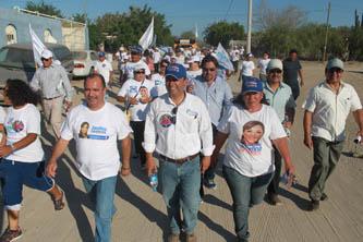 Llama Pancho Pelayo a votar por el proyecto azul