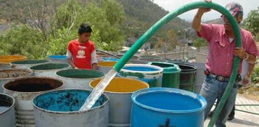 Hasta 2014 seguirá la pobre distribución de agua en la capital