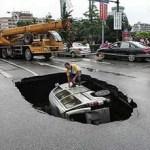 """Pensé que era un terremoto"", dijo el hombre."