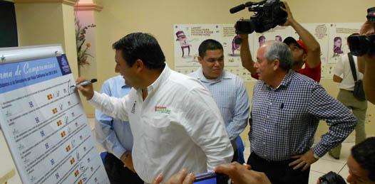 Compromete Coparmex a candidatos a Senador a firmar sus planteamientos de campaña