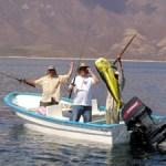 """Se celebró el Torneo de Pesca de pez dorado """"José Pino"""", en La Playa, durante los festejos de esta comunidad."""