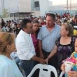 Pancho Pelayo les dijo a los ciudadanos que con los gobiernos del Partido Acción Nacional se mejorarán los servicios públicos de los que carecen actualmente el sector popular de La Paz, careciendo de servicios dignos de agua con un costo excesivo.