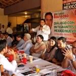 Ricardo Barroso dijo ser un sudcaliforniano agradecido y comprometido con su partido, y aseguró sentirse orgulloso de que su abuelo don Félix Agramont Cota haya sido el gobernador de la transición de Territorio a Estado de Baja California Sur.