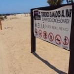 Salvador Solorio, director de ZOFEMAT en Los Cabos, informó que en abril se les avisó que personas de La Paz venían con un permiso para delimitar las concesiones, incluso tenía conocimiento de la existencia de que se colocaron postes para evitar el paso de vehículos, motos y caballos