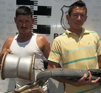 Tomas Hans Appel Salgado y Ramón Eduardo Manríquez Toledo.