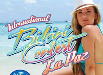 """Para """"elevar el turismo en la ciudad"""" invitan al Bikini Contest La Paz 2012"""