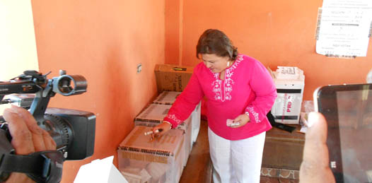 A organizarse mejor, conmina la alcaldesa paceña al IFE