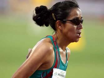 La maratonista se lastimó durante un entrenamiento y no participará en la justa veraniega.