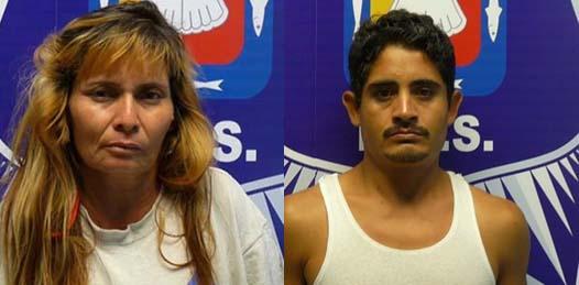 Detiene la PEP a pareja con sospechosas sustancias