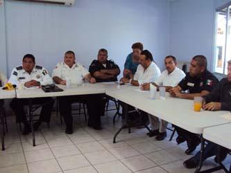 Ya se tienen 25 elementos registrados para promocionarse por las 24 plazas que se tienen en la Dirección General de Seguridad Pública, Policía Preventiva y Tránsito Municipal de Los Cabos.