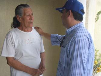 Pancho Pelayo regresa a su distrito a dar las gracias a todos los ciudadanos ya que durante los recorridos de campaña fue una de las principales peticiones de la gente, que los políticos regresen a dar las gracias y a trabajar.