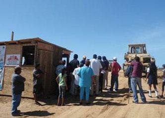 Sin respuesta las familias afectadas por construcción de Planta Los Cangrejos