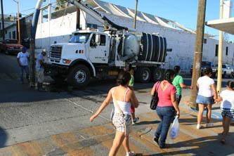 Rehabilita OOMSAPASLC drenaje municipal para evitar derrames