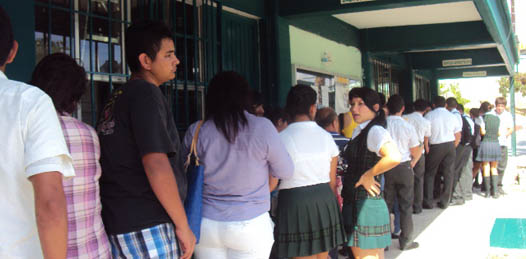 Estudiantes del COBACH se manifestarán frente a Palacio de Gobierno