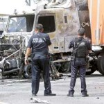 En diferentes municipios de Jalisco, principalmente fuera de la zona metropolitana de Guadalajara, el crimen realizó bloqueos y quema de vehículo.