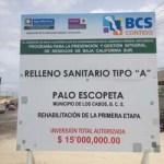 """""""El recurso de los dos proyectos es de 16.5 millones, 15 para el relleno sanitario y 1.5 millones para el estudio integral de residuos sólidos municipales"""", puntualizó el director municipal de Ecología y Medio Ambiente, Jesús Druk González."""