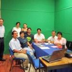 """El personal de Radio UABCS asiste al curso-taller """"Programación radiofónica y diseño de parrillas programáticas"""", impartido por la Lic. Katiuska Jiménez Guzmán, Jefa de Programación de Radio UNAM."""