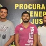 Roberto Chairez Fernández, Sergio Yancarlos Sánchez Estrada y Jean Tuchman Montaño.