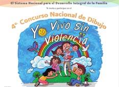 "Invitan al Cuarto Concurso Nacional de Dibujo ""Yo Vivo Sin Violencia"""