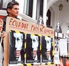Rechaza Suecia enviar a Julian Assange a los EU