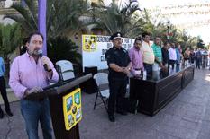 Clausura alcalde actividades por el mes patrio