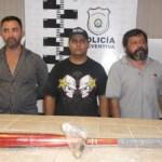 Luis David Rodríguez Morales, Ernesto Hernández Nápoles y Ernesto Hernández Islas.
