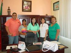 Se reúne Presidenta de DIF municipal con homólogos estatales