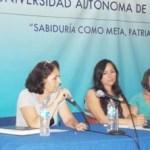 La conferencia estuvo a cargo de la M. en C. María Luisa Cabral Bowling, profesora-investigadora del Área de Conocimiento de Ciencias Sociales y Humanidades.