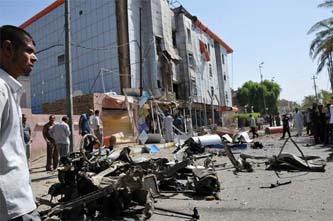 Deja al menos 58 muertos ola de atentados en Irak