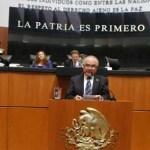 El senador Ernesto Ruffo Appel presentó un punto de acuerdo para exhortar a la Junta de Coordinación Política del Senado de la República a que en breve constituya una Comisión Ordinaria de Pesca y Acuacultura Sustentable.