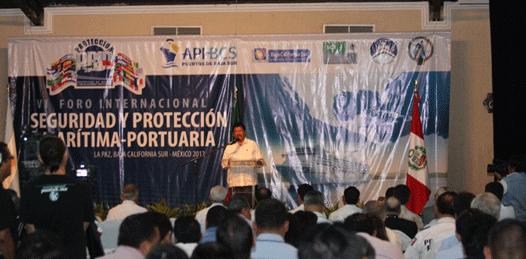Inicia el Foro Internacional sobre Seguridad Marítima y Portuaria