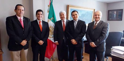 """Difunde el Secretario de Turismo en España """"los logros de la administración estatal"""""""