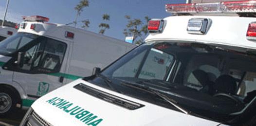 Siete nuevas ambulancias para el IMSS